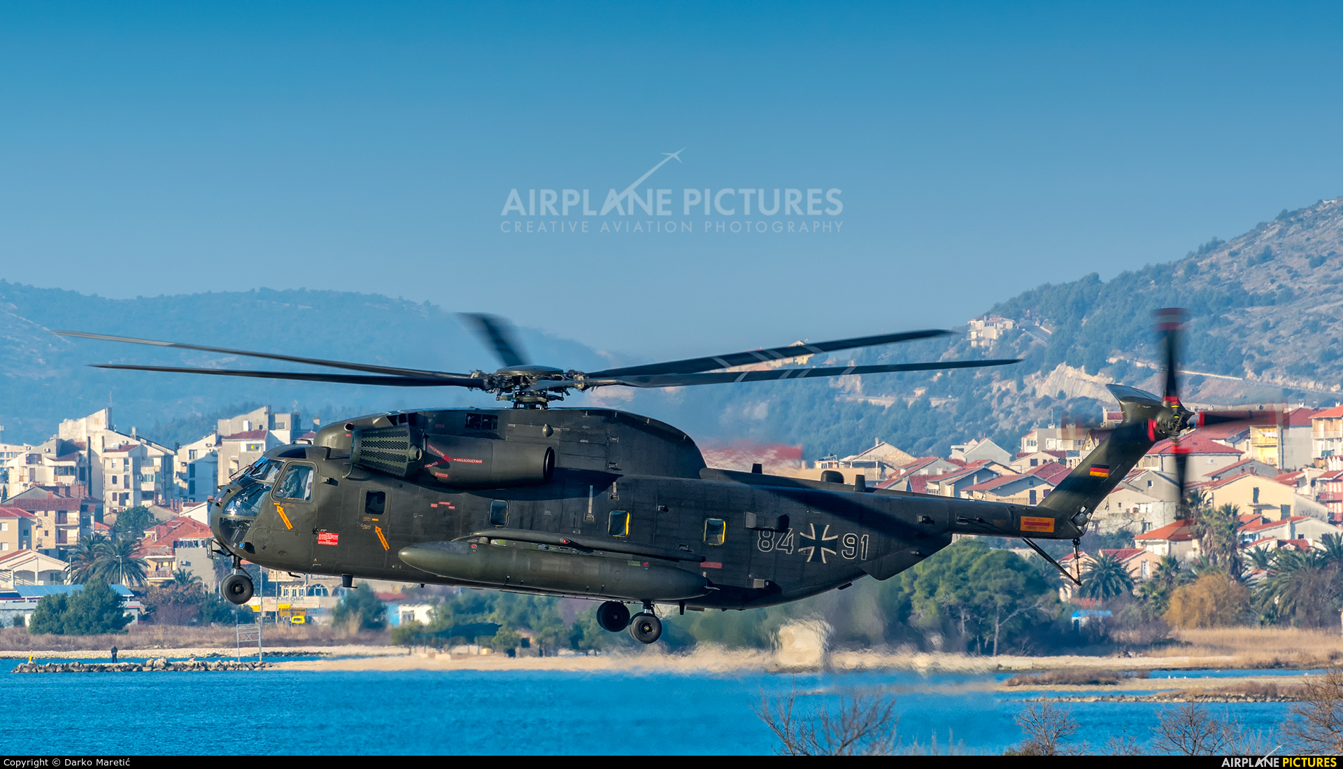 Germany - Army 84+91 aircraft at In Flight - Croatia