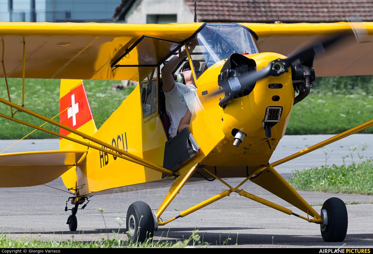 Private HB-OCU aircraft at Ambri