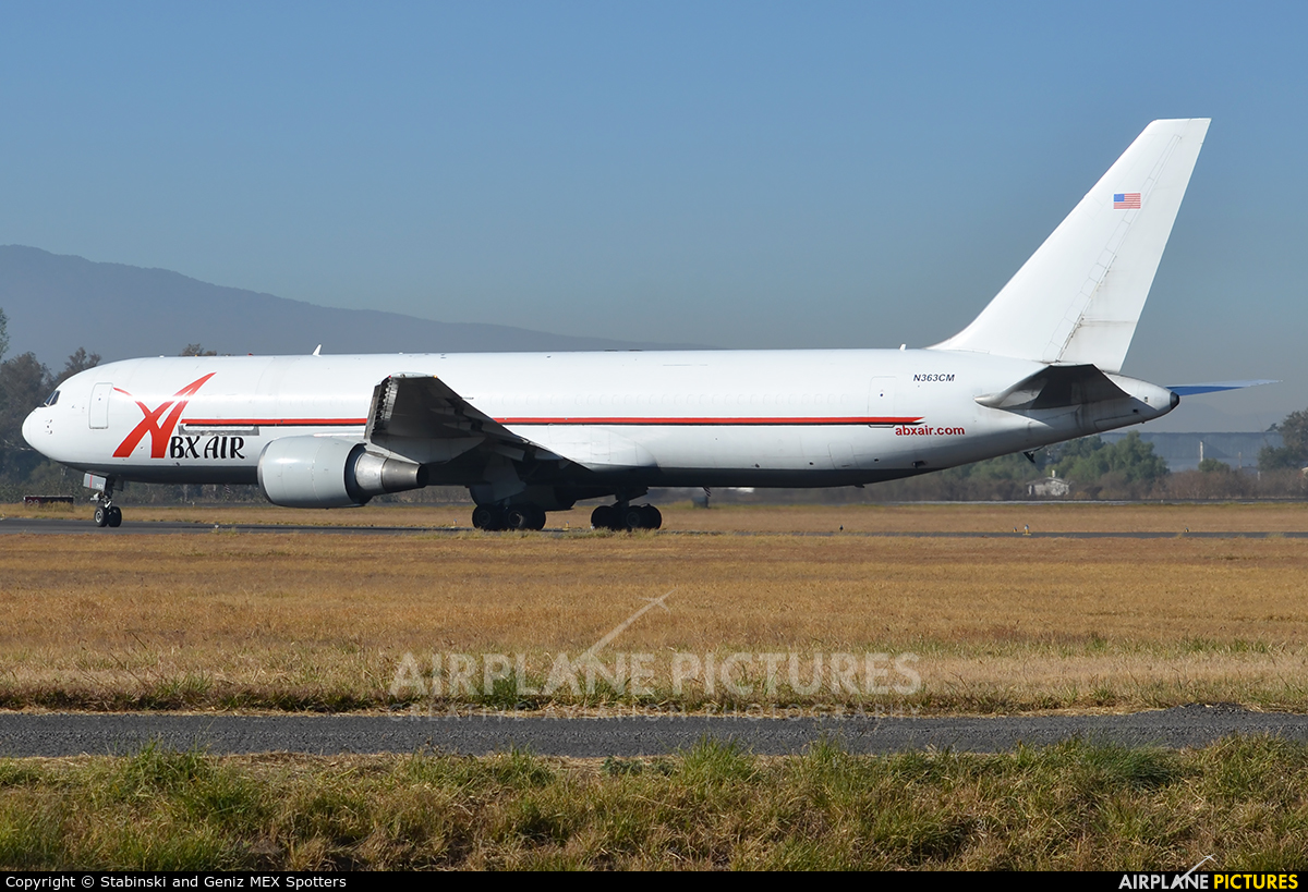 ABX Air N363CM aircraft at Miguel Hidalgo y Costilla Intl