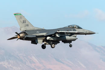 89-0118 - USA - Air Force General Dynamics F-16C Fighting Falcon