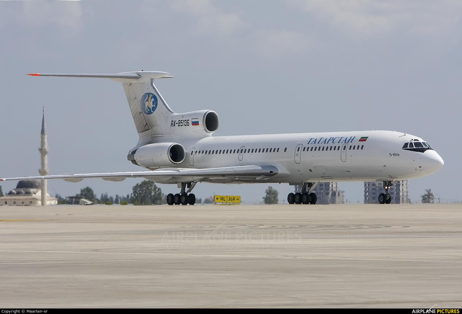 Tatarstan RA-85136 aircraft at Antalya