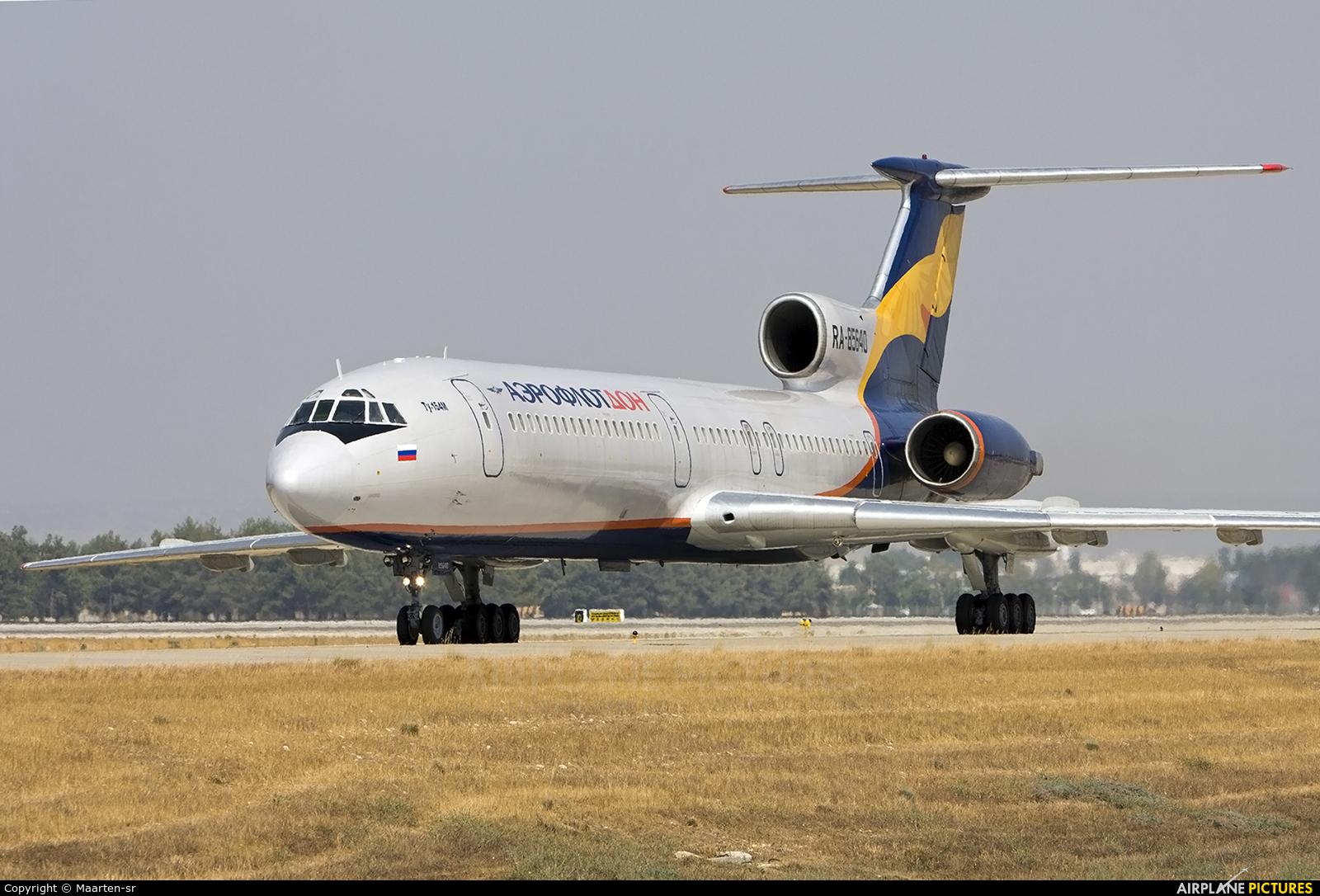 Aeroflot Don RA-85640 aircraft at Antalya