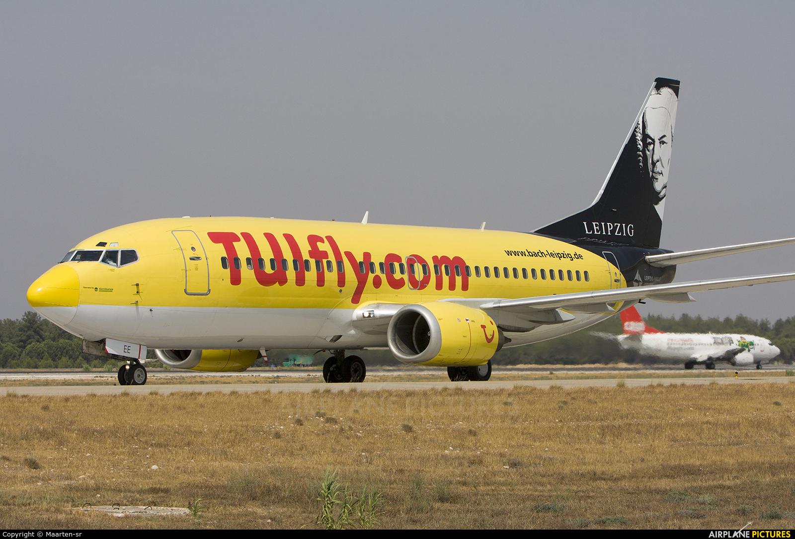 TUIfly D-AGEE aircraft at Antalya