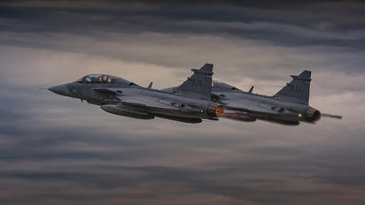 826 & 832 - Sweden - Air Force SAAB JAS 39D Gripen