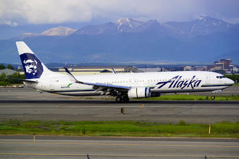 N491AS - Alaska Airlines Boeing 737-900ER