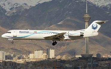 EP-ATE - Iran Aseman Fokker 100