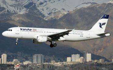 EP-IEE - Iran Air Airbus A320
