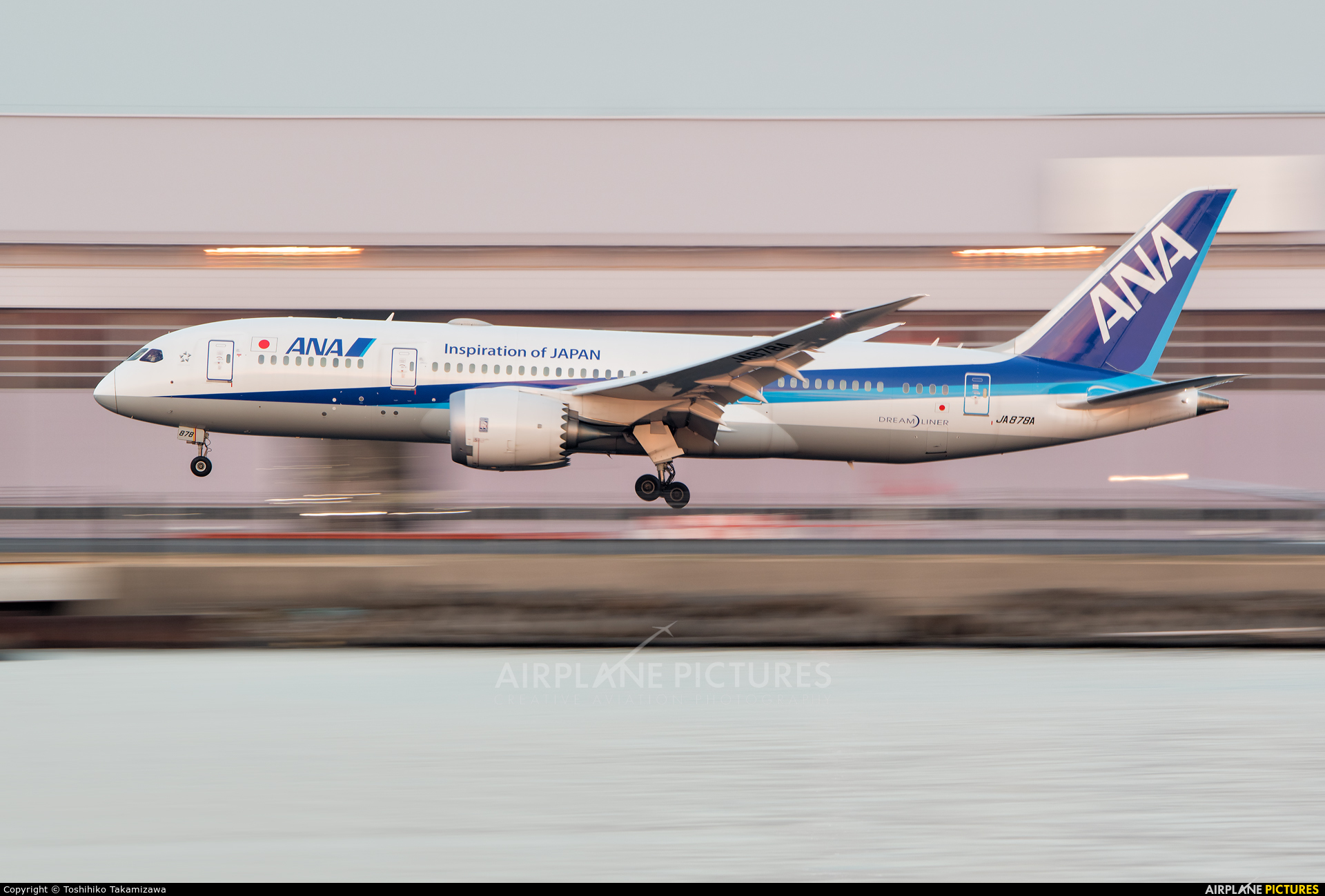 ANA - All Nippon Airways JA878A aircraft at Tokyo - Haneda Intl