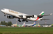 A6-ERI - Emirates Airlines Airbus A340-500 aircraft