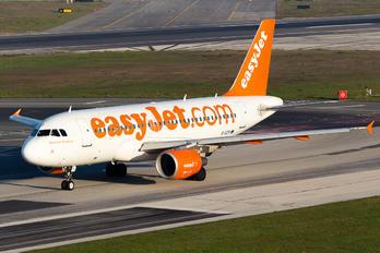G-EZIY - easyJet Airbus A319