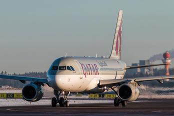 A7-AHP - Qatar Airways Airbus A320