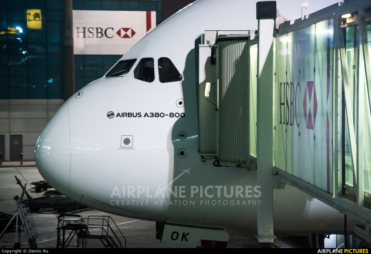 Emirates Airlines A6-EOK aircraft at Dubai Intl