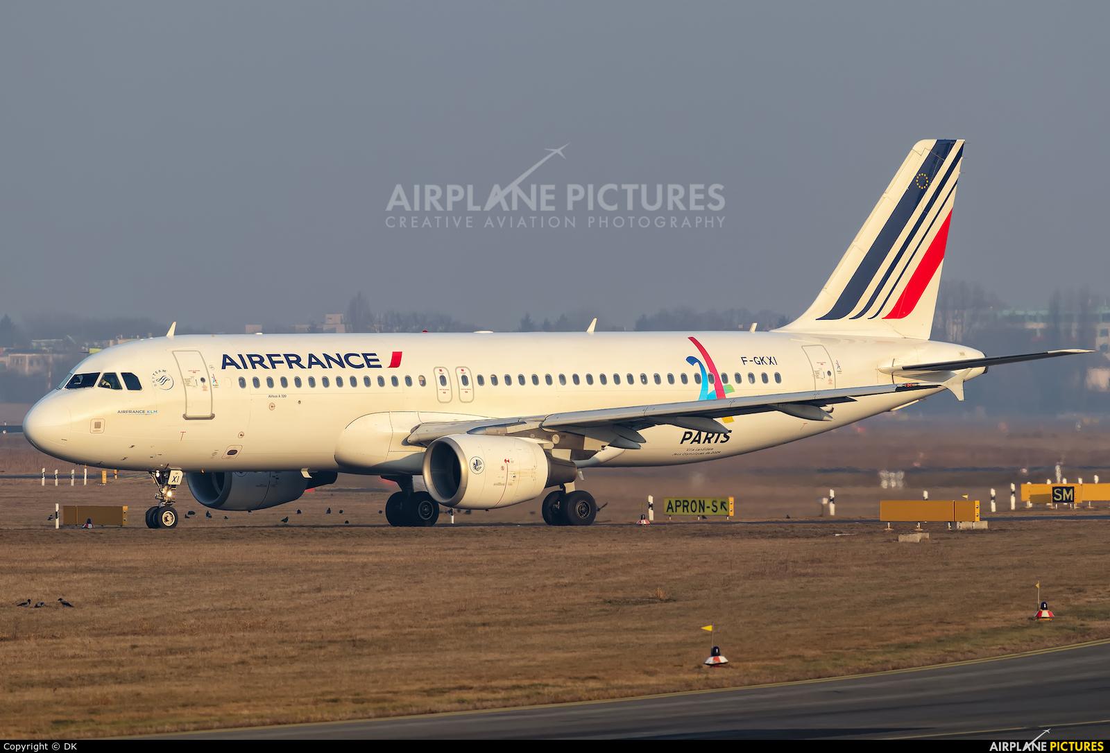 Air France F-GKXI aircraft at Berlin - Tegel