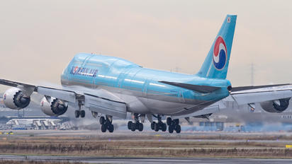 HL7636 - Korean Air Boeing 747-8