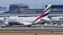 A6-EUK - Emirates Airlines Airbus A380 aircraft