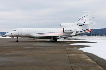 N347BD - Private Dassault Falcon 7X