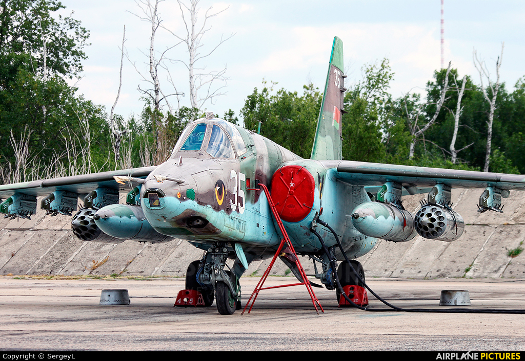 Belarus - Air Force 35 aircraft at Undisclosed Location