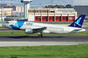 CS-TKP - SATA International Airbus A320