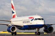 G-DBCI - British Airways Airbus A319 aircraft