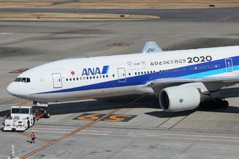 JA745A - ANA - All Nippon Airways Boeing 777-200