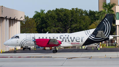 N327AG - Silver Airways SAAB 340