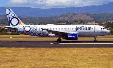N569JB - JetBlue Airways Airbus A320