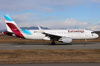 D-AEWD - Eurowings Airbus A320