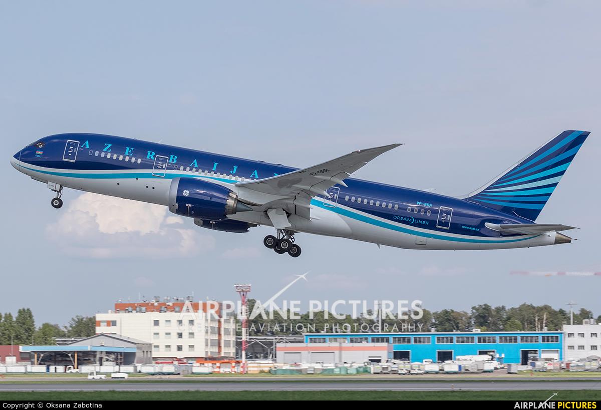 Azerbaijan Airlines VP-BBR aircraft at Moscow - Domodedovo
