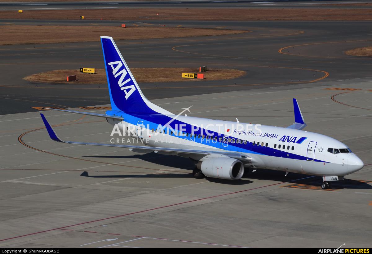 ANA - All Nippon Airways JA06AN aircraft at Chubu Centrair Intl