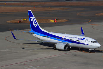 JA06AN - ANA - All Nippon Airways Boeing 737-700