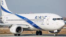 4X-EKJ - El Al Israel Airlines Boeing 737-800 aircraft