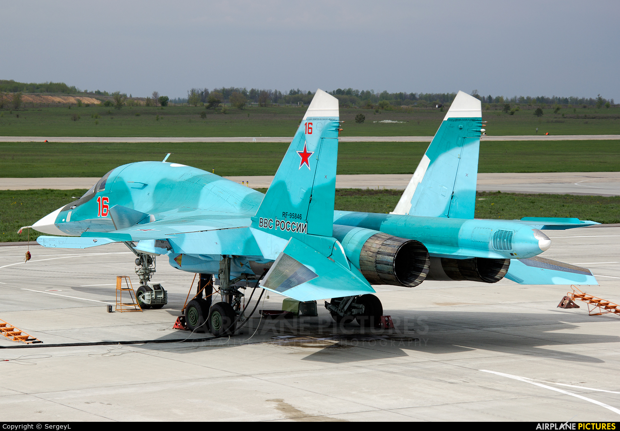 Russia - Air Force RF-95846 aircraft at Undisclosed Location
