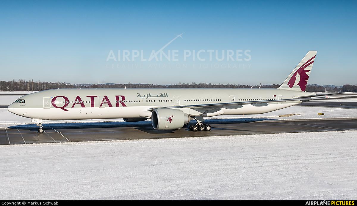 Qatar Airways A7-BED aircraft at Munich