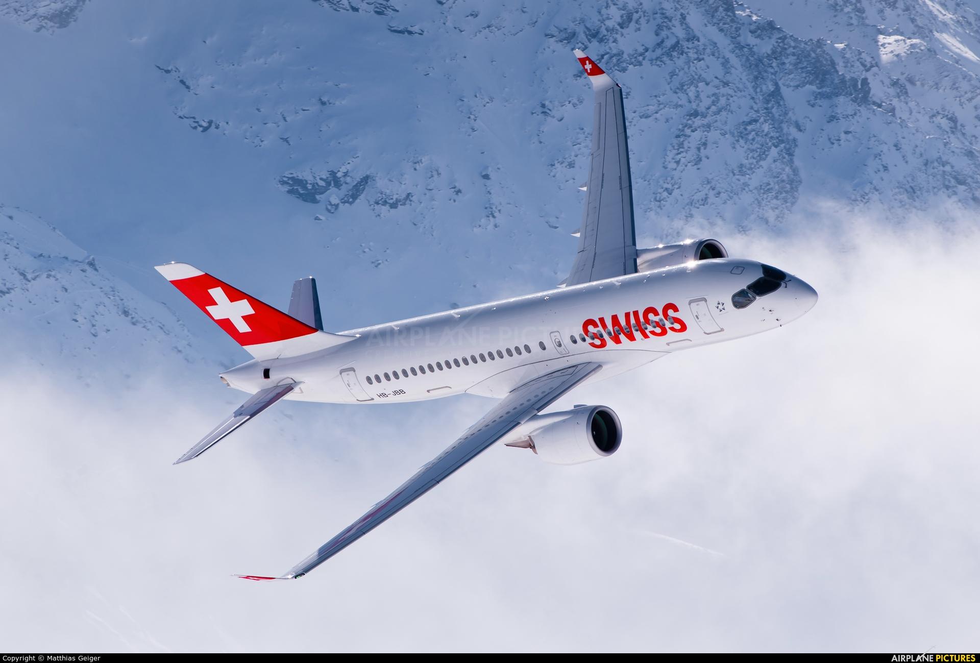 Swiss HB-JBB aircraft at Off Airport - Swiss Alps