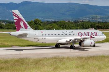 A7-AHF - Qatar Airways Airbus A320