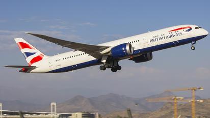 G-ZBKE - British Airways Boeing 787-9 Dreamliner