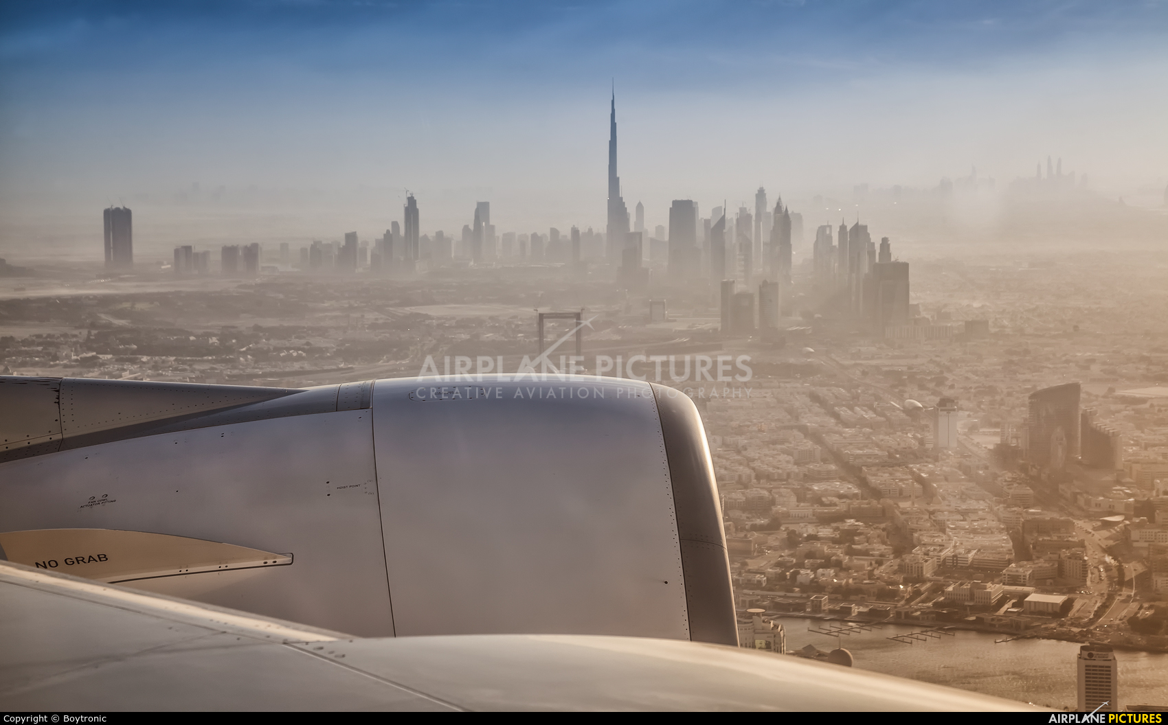 Emirates Airlines A6-EEV aircraft at In Flight - UAE