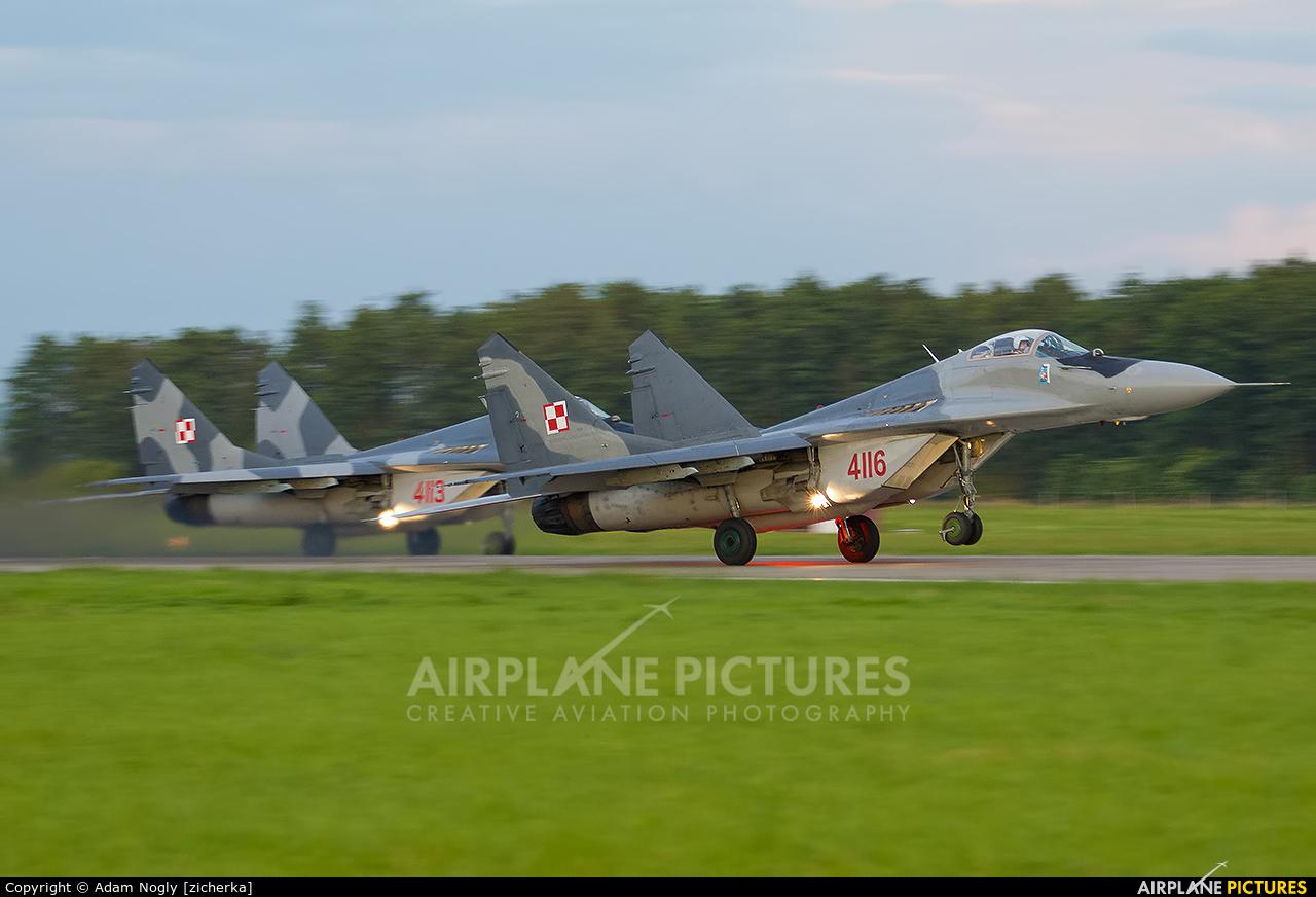 Poland - Air Force 4116 aircraft at Malbork