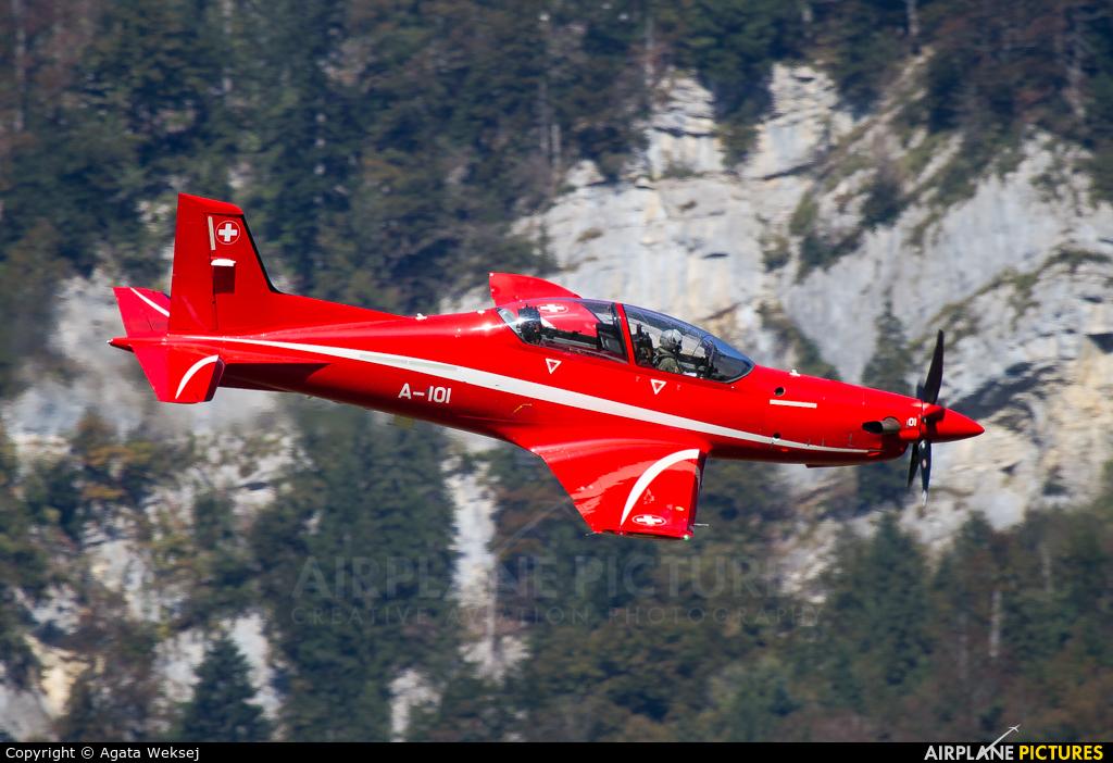 Switzerland - Air Force A-101 aircraft at Meiringen
