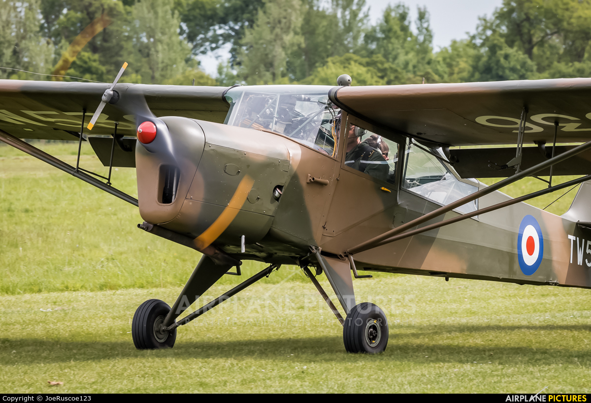 Private G-BNGE aircraft at Old Warden