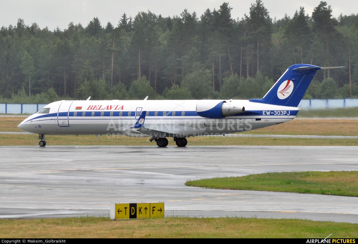 Belavia EW-303PJ aircraft at Minsk Intl