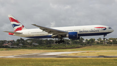 G-VIIV - British Airways Boeing 777-200