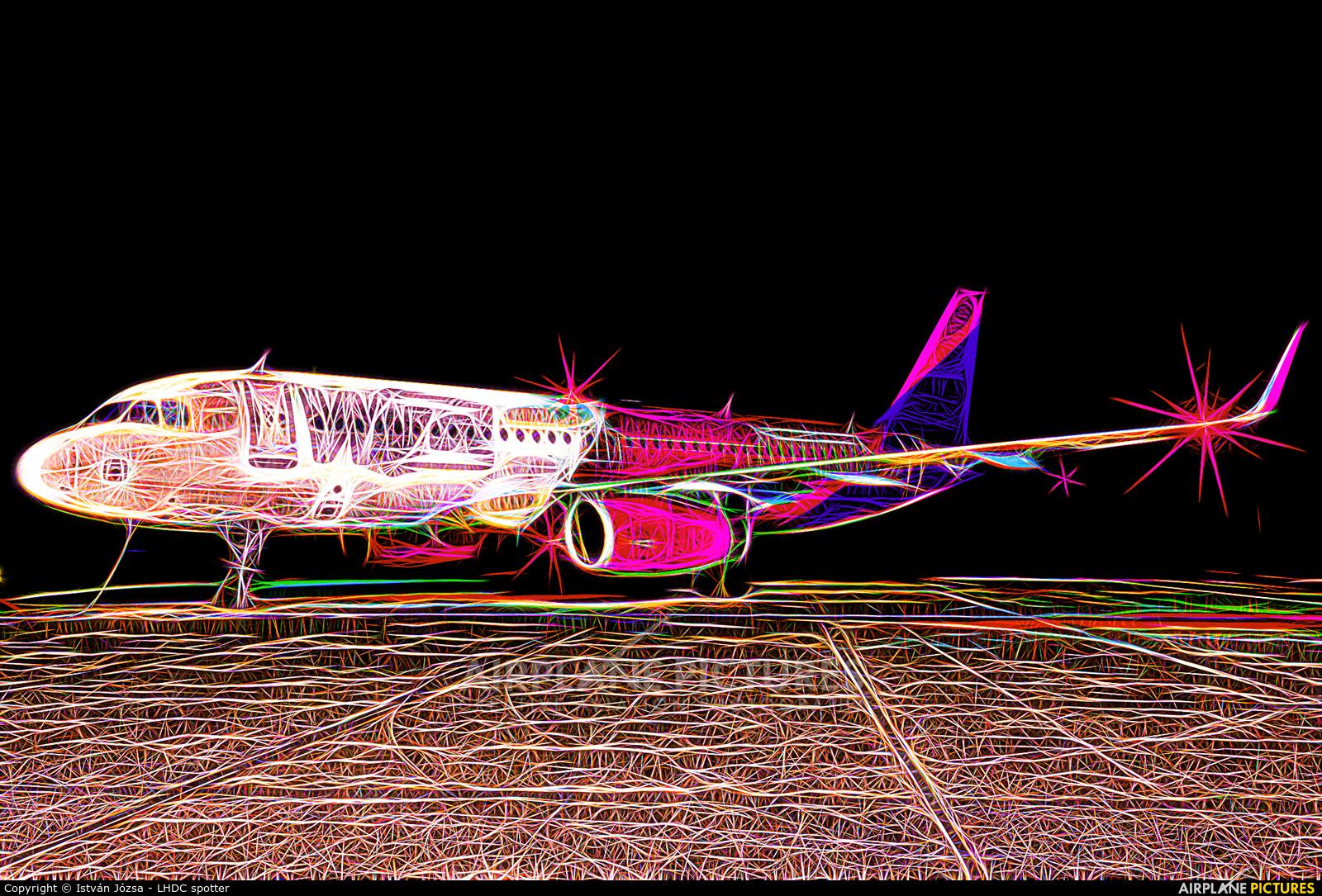Wizz Air HA-LYS aircraft at Debrecen Intl