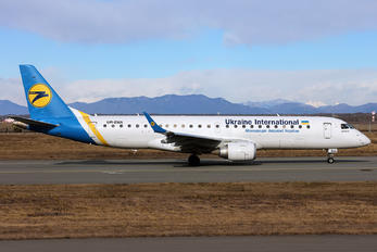 UR-EMA - Ukraine International Airlines Embraer ERJ-190 (190-100)