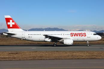 HB-IJI - Swiss Airbus A320