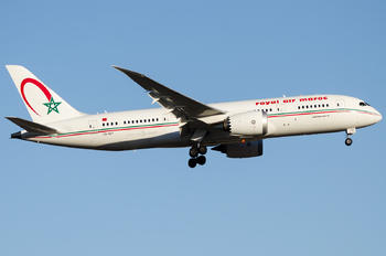 CN-RGT - Royal Air Maroc Boeing 787-8 Dreamliner