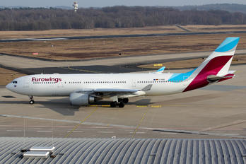 D-AXGE - Eurowings Airbus A330-200