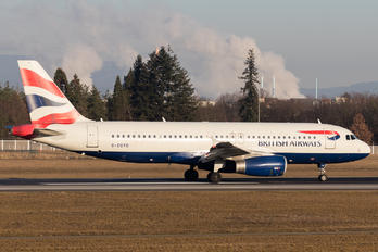 G-EUYD - British Airways Airbus A320