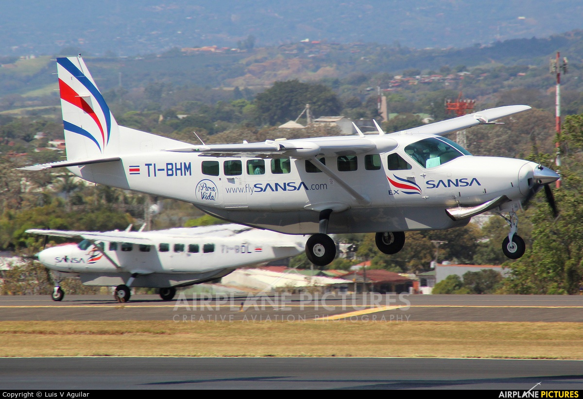 Sansa Airlines TI-BHM aircraft at San Jose - Juan Santamaría Intl