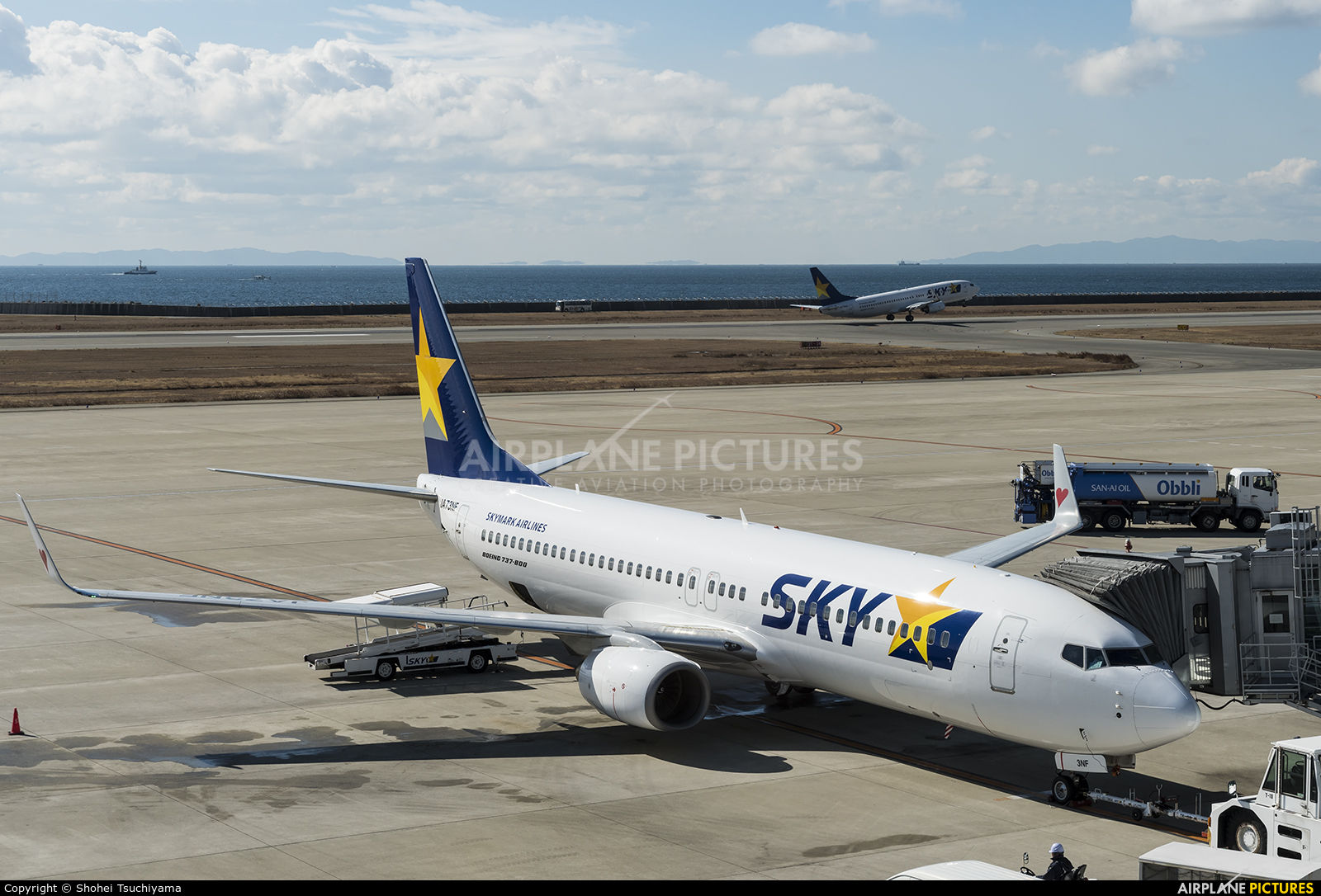 Skymark Airlines JA73NF aircraft at Kobe